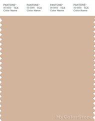 PANTONE SMART 14-1213X Color Swatch Card, Toasted Almond