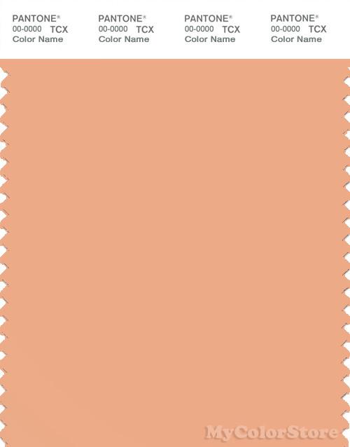 PANTONE SMART 14-1224X Color Swatch Card, Coral Sands