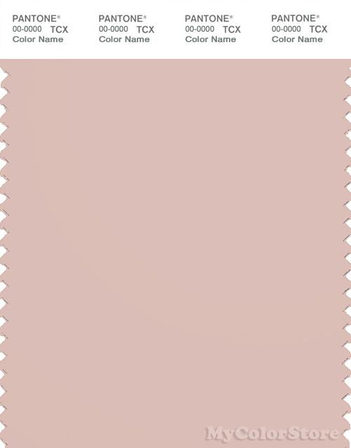 PANTONE SMART 14-1309X Color Swatch Card, Peach Whip