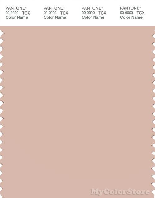 PANTONE SMART 14-1310X Color Swatch Card, Cameo Rose