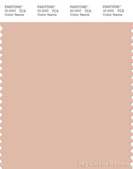 PANTONE SMART 14-1314X Color Swatch Card, Spanish Villa