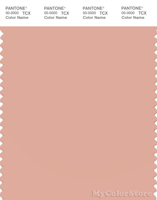 PANTONE SMART 14-1316X Color Swatch Card, Dusty Pink