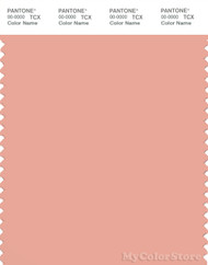 PANTONE SMART 14-1318X Color Swatch Card, Coral Pink