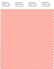 PANTONE SMART 14-1324X Color Swatch Card, Peach Bud