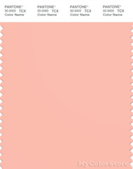 PANTONE SMART 14-1418X Color Swatch Card, Peach Melba