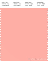 PANTONE SMART 14-1420X Color Swatch Card, Apricot Blush