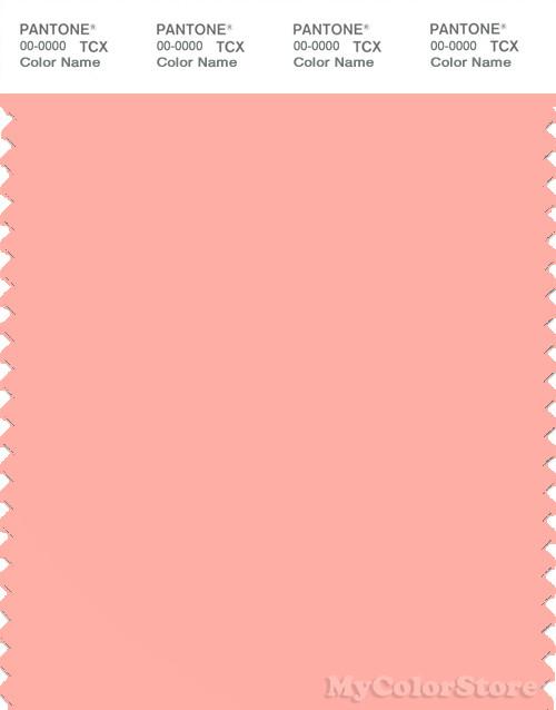 PANTONE SMART 14-1420X Color Swatch Card, Apricot Blush