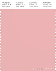 PANTONE SMART 14-1511X Color Swatch Card, Powder Pink