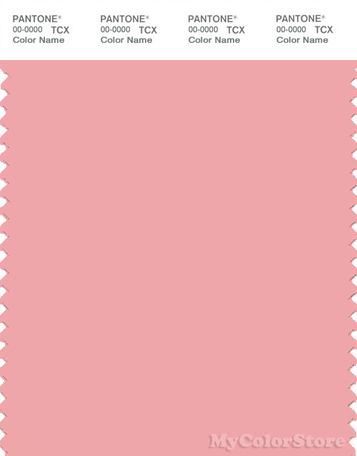 PANTONE SMART 14-1714X Color Swatch Card, Quartz Pink