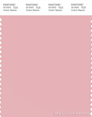 PANTONE SMART 14-1909X Color Swatch Card, Coral Blush