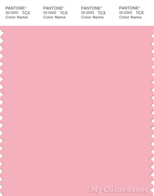 PANTONE SMART 14-1911X Color Swatch Card, Candy Pink
