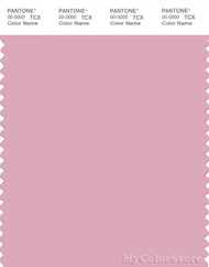 PANTONE SMART 14-2307X Color Swatch Card, Cameo Pink