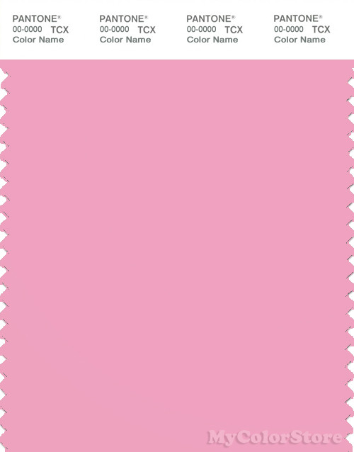 PANTONE SMART 14-2311X Color Swatch Card, Prism Pink