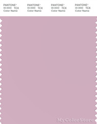 PANTONE SMART 14-3204X Color Swatch Card, Pale Red Purple