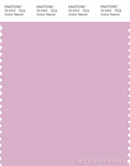 PANTONE SMART 14-3207X Color Swatch Card, Pink Lavender