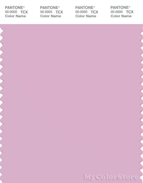 PANTONE SMART 14-3207X Color Swatch Card, Pink Lavender