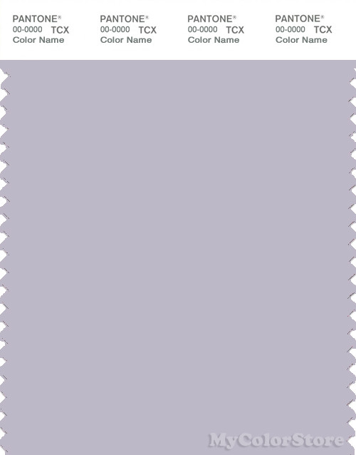 PANTONE SMART 14-3904X Color Swatch Card, Evening Haze