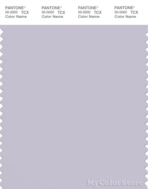 PANTONE SMART 14-3905X Color Swatch Card, Lavender Blue