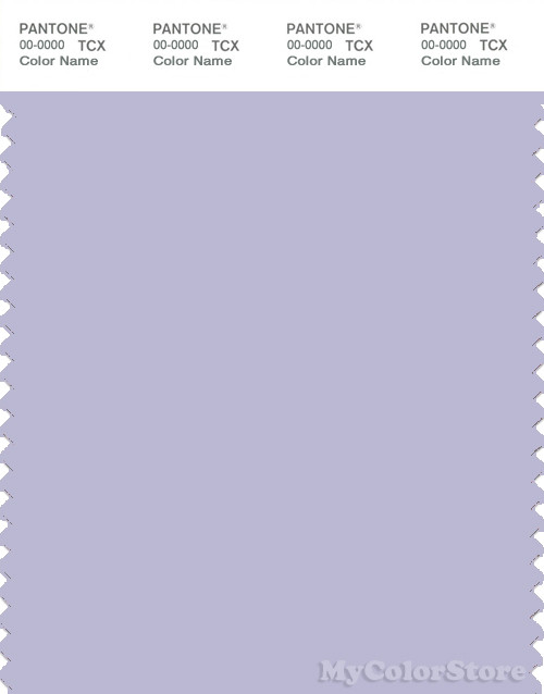 PANTONE SMART 14-3911X Color Swatch Card, Purple Heather