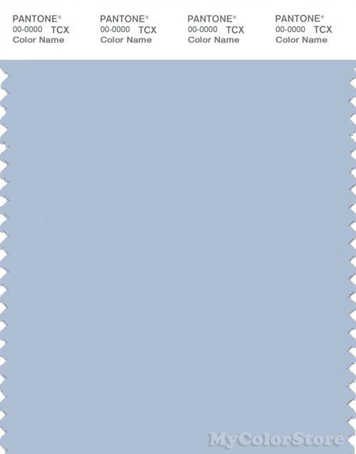 PANTONE SMART 14-4112X Color Swatch Card, Skyway