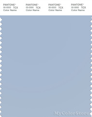 PANTONE SMART 14-4115X Color Swatch Card, Cashmere Blue