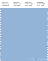 PANTONE SMART 14-4121X Color Swatch Card, Blue Bell