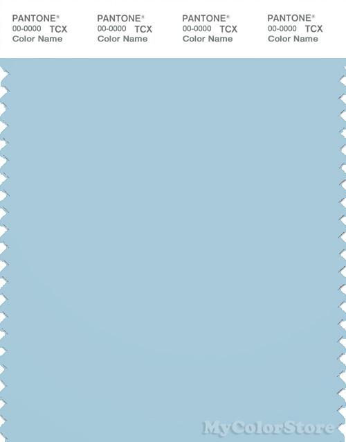 PANTONE SMART 14-4311X Color Swatch Card, Corydalis Blue