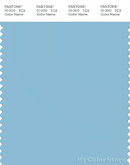PANTONE SMART 14-4318X Color Swatch Card, Sky Blue