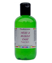 Meadowsweet Head and Muscle Ease Foam Bath (250ml)