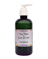 Meadowsweet Tea Tree Hand Wash (with pump) (250ml)