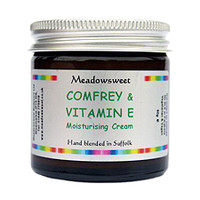 Meadowsweet Comfrey and Vitamin E Moisturising Cream (60g)