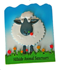 Hillside Sheep Magnet
