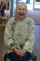 COMPLETED - Glenys Bakehouse is Shaving off Her Hair for Hillside!!