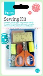 21 Piece Sewing Kit