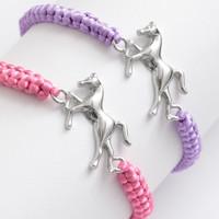 Horse Cord Bracelet