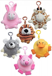 Animal Coin Purse with Belt Clip