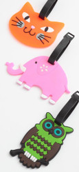Animal Luggage Tags