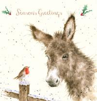 Deluxe Hillside Christmas Cards