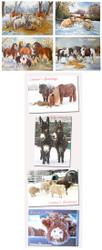 Bumper Pack Hillside Christmas Cards