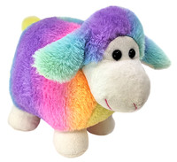 Soft Cuddly Rainbow Sheep