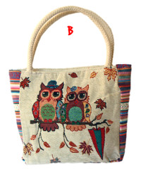 Owl Tapestry Design Mini Bag