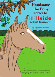 Handsome the Pony & Primrose Piglet Colouring Books