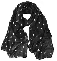 Pineapple Print Supersoft Scarf