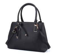 Black Handbag with Bowknot