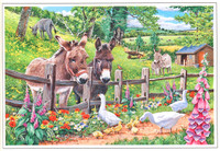 Hillside 250 Piece Jigsaw Puzzle 'Jack and Jenny'