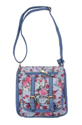 Floral Print Cross Body Bag