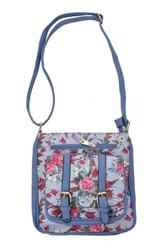 Floral Print Cross Body Bag (HB35)