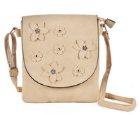 Stylish Floral Foldover Handbag