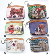 Dog Design Coin Purse
