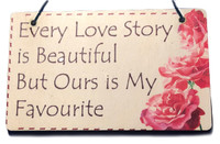 'Love Story' Plaque